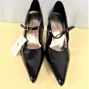 Black Patent Leather Heels By Isaac Mizrahi-NWT